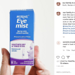 Image of MURINE® Eye Mist Review social sharing