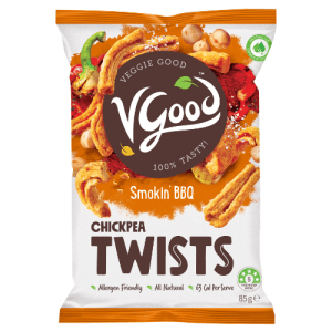 Image of VGood Chickpea Twists in Smokin' BBQ