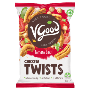 Image of VGood Chickpea Twists in Tomato Basil