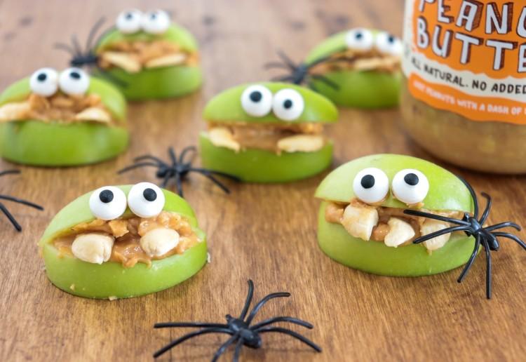 Halloween Apple Monsters