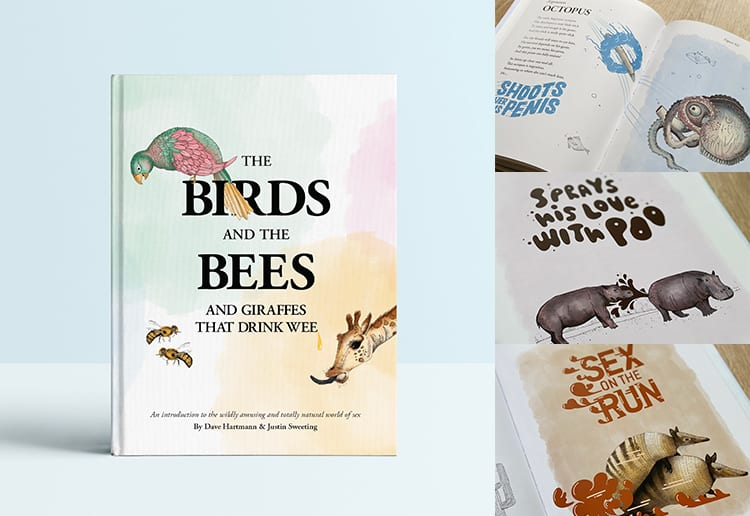 WIN 1 of 8 New 'Birds & Bees' Books For Kids