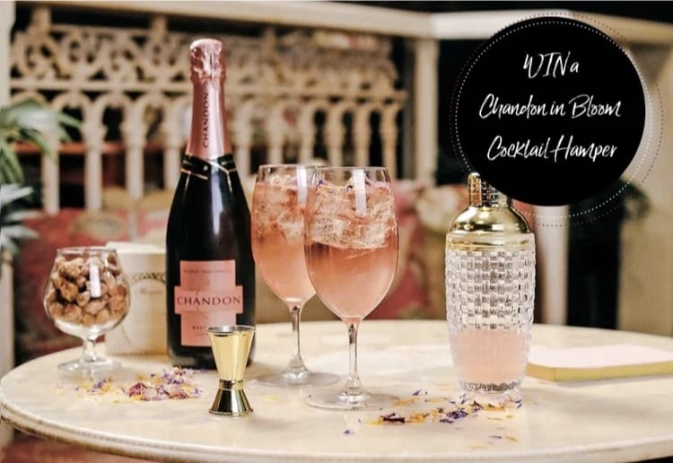 WIN 1 of 4 Chandon in Bloom Cocktail Hampers From The Hamper Emporium