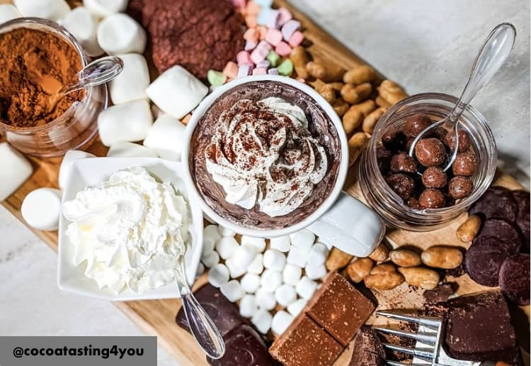 The Hot Chocolate Grazing Platter Is The Hottest New Dessert