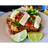 Mexican Haloumi Salad