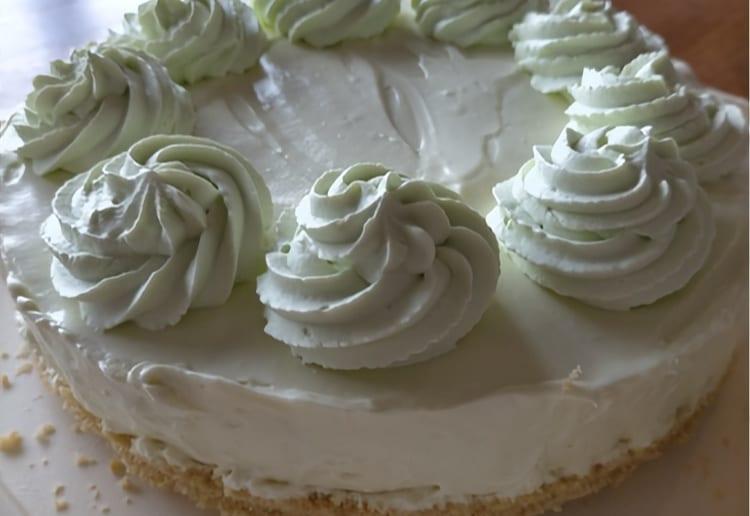 Creamy No-Bake Lime Cheesecake