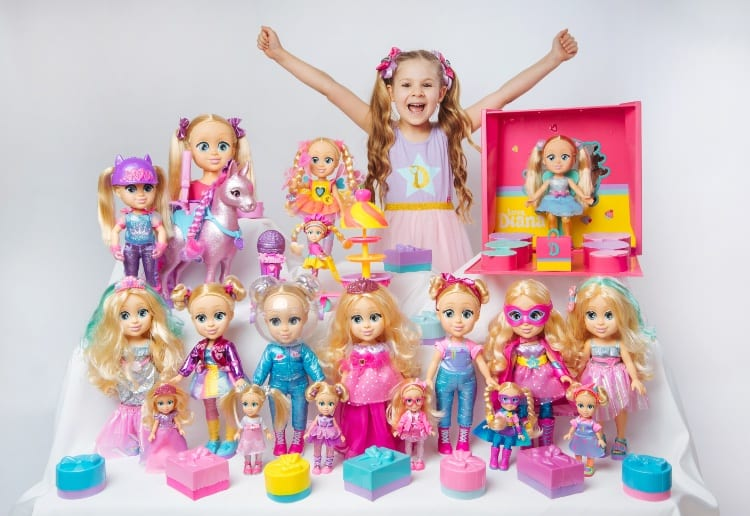 Win 1 Of 5 'Love Diana, the Princess of Play' Packs From YouTube Star Of The Kids Diana Show