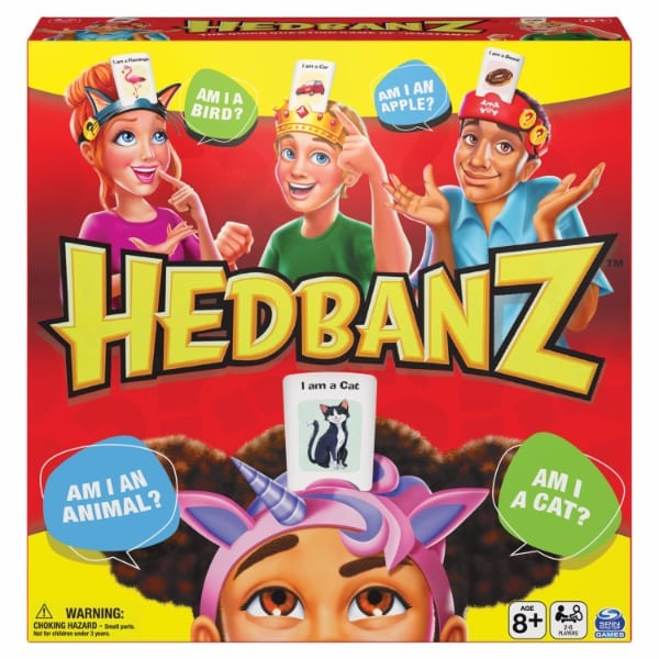 Hedbanz board game from Spin Master