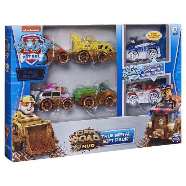 PAW Patrol_Die Cast Vehicles_Off Road_Mud_Gift Set_