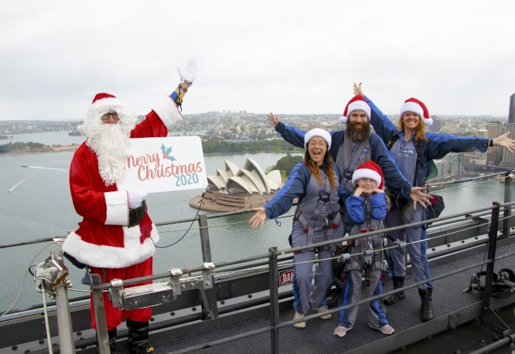 Win A Family BridgeClimb To See Santa On Top Of The Sydney Harbour Bridge