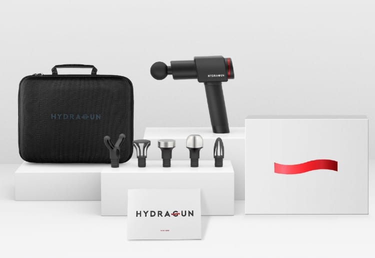 Win A Premium Percussive Massage Gun From HYDRAGUN