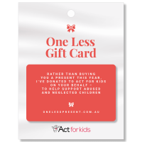 One Less Present: Giving Nothing Means Everything