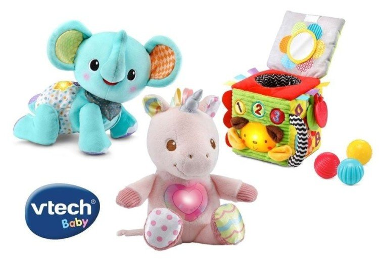 Win 1 of 5 VTech Baby's First Christmas Prize Packs Worth $114.85 Each