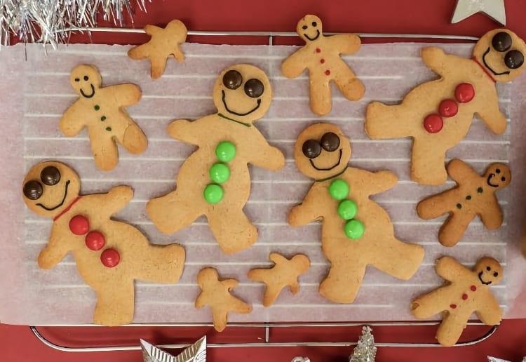 Festive Christmas Gingerbread