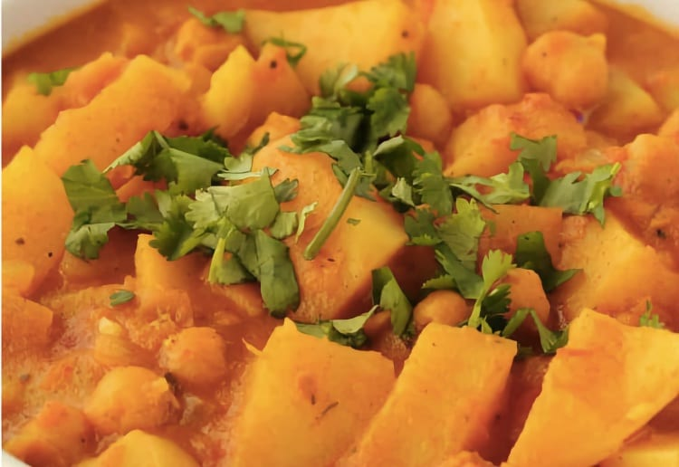Simple Potato Curry
