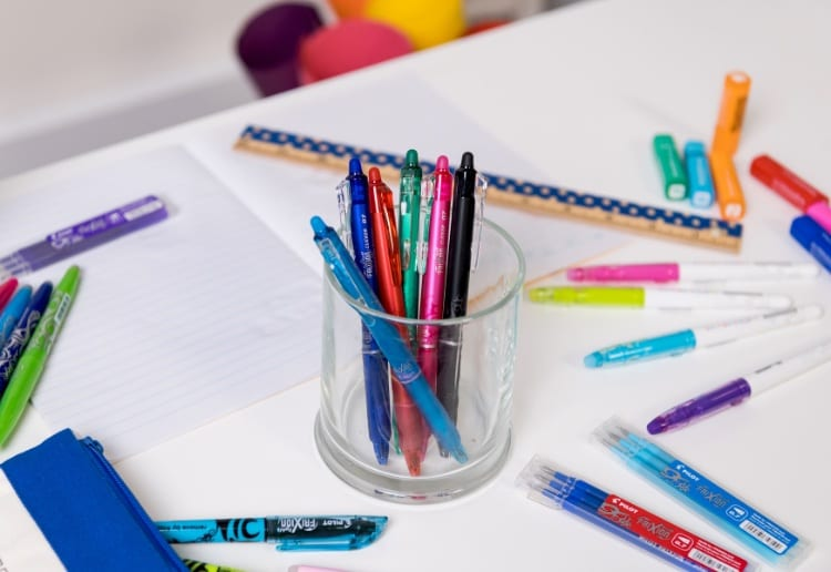 WIN 1 of 3 Back to School Frixion Pilot Pen Sets Worth $152 Each