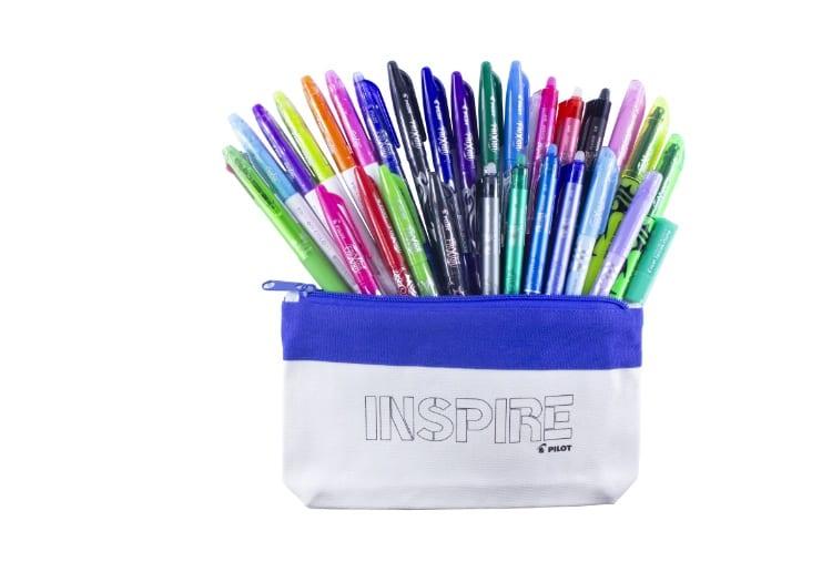 inside pencil case