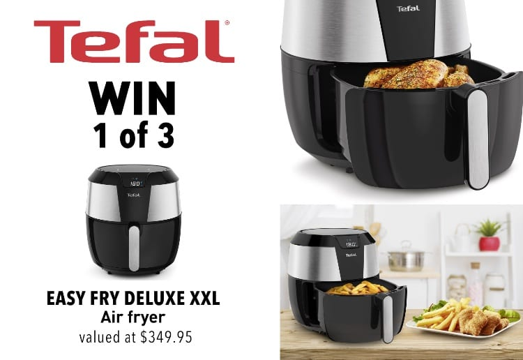 WIN 1 of 3 Easy Fry Deluxe XXL Air Fryers From Tefal