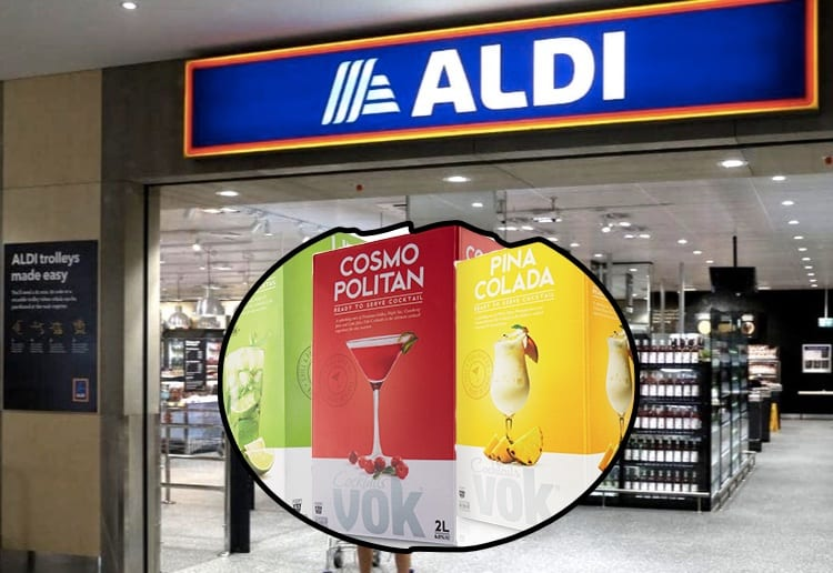 Aldi Launches Cheap Casks Of Pre-Mixed Cocktails Perfect For New Year Festivities
