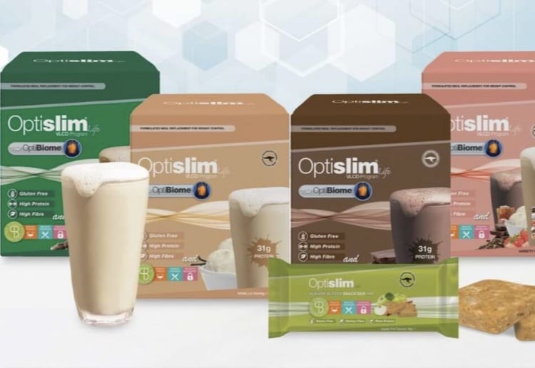 WIN 1 of 5 OptiBiome Shake And Snack Bar Packs!