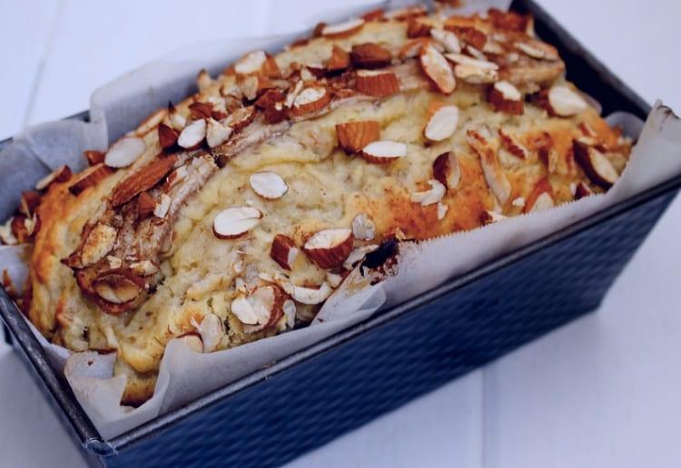 Almond and Banana Loaf