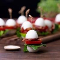 Bacon, Lettuce & Tomato (BLT) Bombs