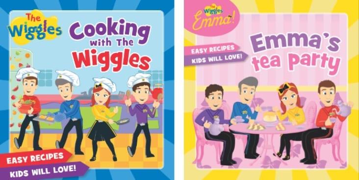 wiggles recipe books
