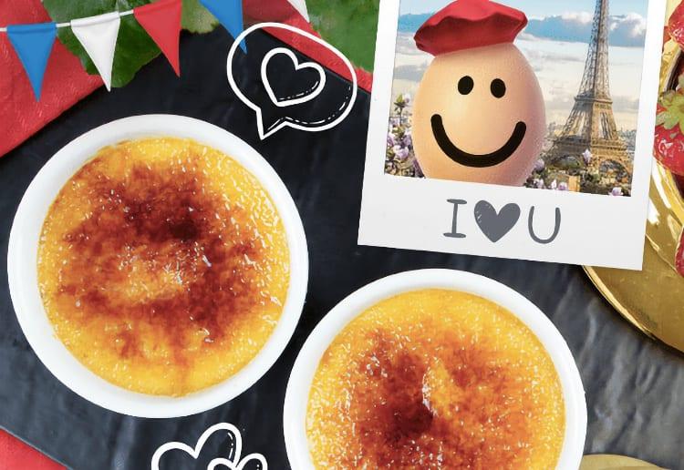 Paris-Inspired Vanilla Bean Crème Brulee