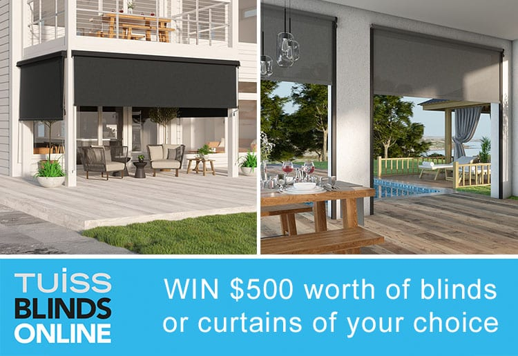 WIN $500 Worth Of Blinds Or Curtains From Tuiss Blinds Online!