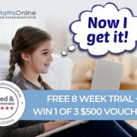 Set Your Kids Up For Success With A Free 8 Week MathsOnline Trial!