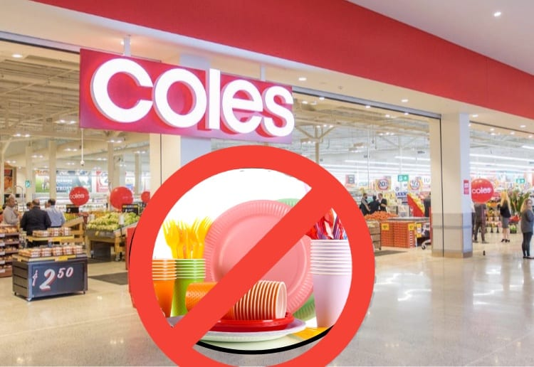 """It's Just A PR Stunt!"" Coles Controversial Move To Ditch Single-Use Plastic Plates"