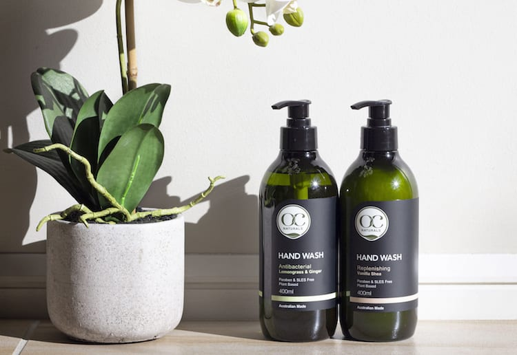 Win 1 of 10 OC Naturals Hand & Body Wash Prize Packs