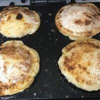 Leftover Potato Pancake Pies