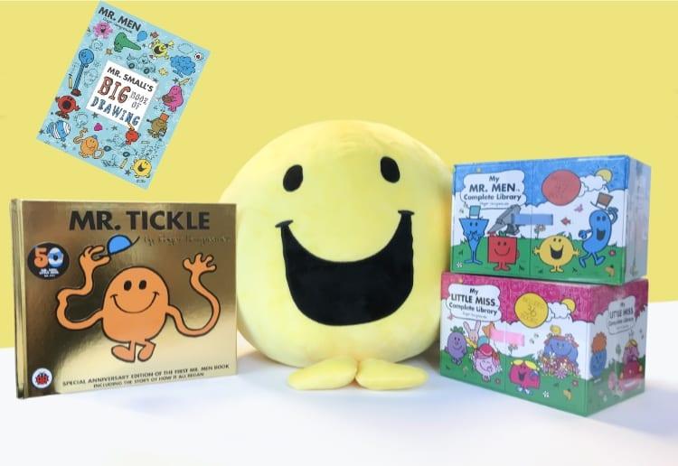 Mr. Men: Mr Tickle 50th Anniversary Giveaway