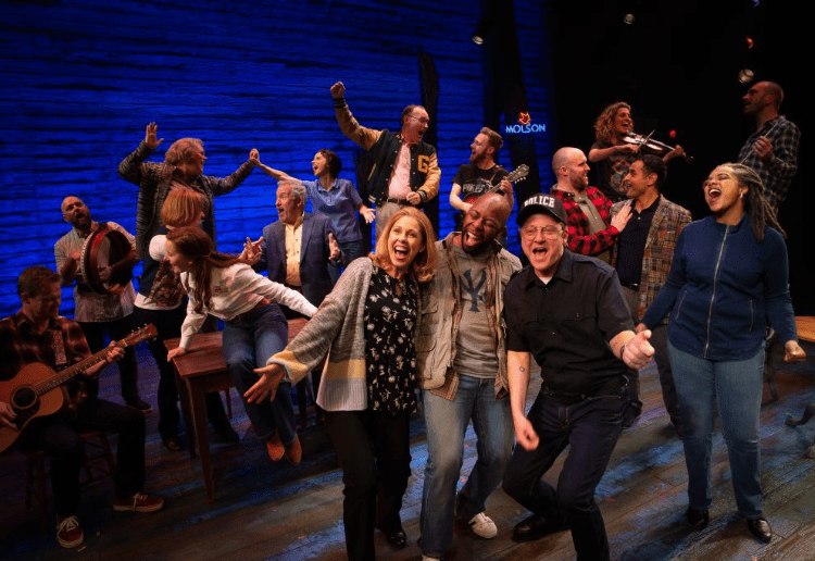 Win 1 of 2 Double Passes to Award Winning Musical Come From Away