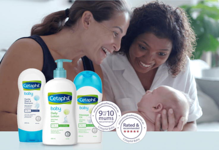 Cetaphil Baby Review with star rating dinkus