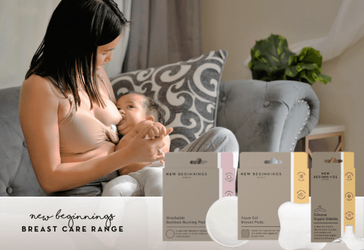 Image of mother breastfeeding - New Beginnings Breast Care review