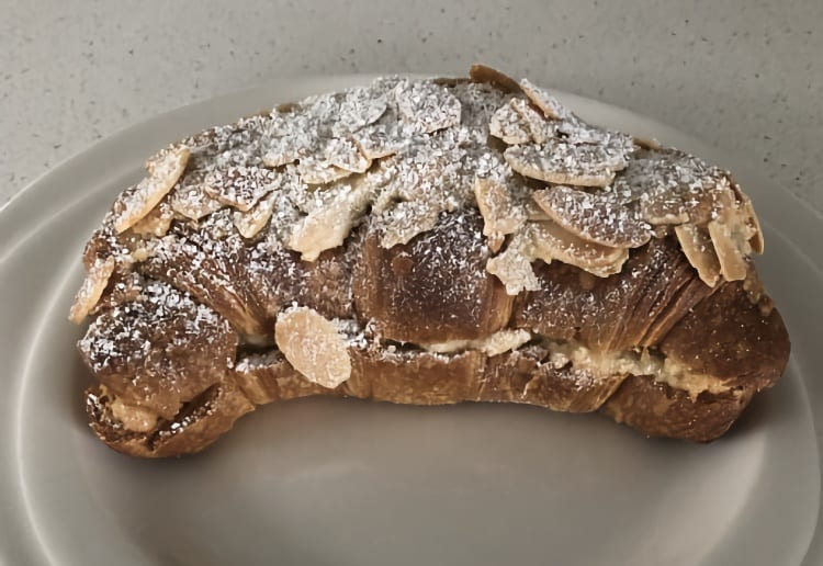 The Easiest Almond Croissant