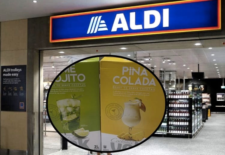 Aldi's Pre-Mixed Cocktails Are Back…For A Limited Time Only
