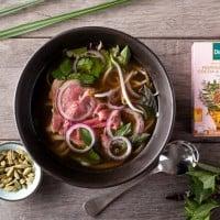 Dilmah Beef Soup With Moringa, Chilli, Cocoa and Cardamon
