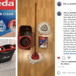 Vileda Easy Wring and Clean Turbo Mop review social sharing