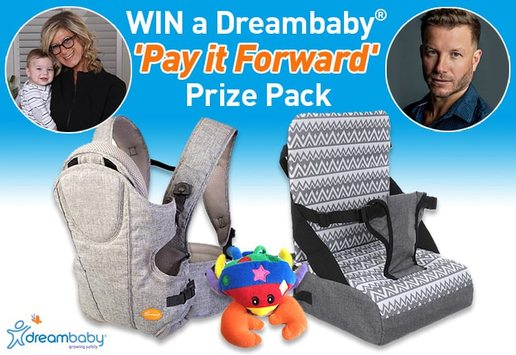 Win a Dreambaby® 'Pay it Forward' Prize Pack