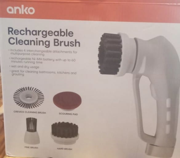 reachargeable cleaning brush