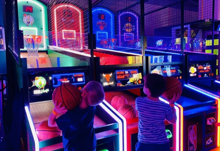 Best Kids' Party Ever At B. Lucky & Sons Fun Arcade