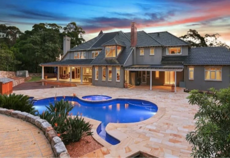 Teenager Buys A $5-Million Sydney Mansion With A Lake
