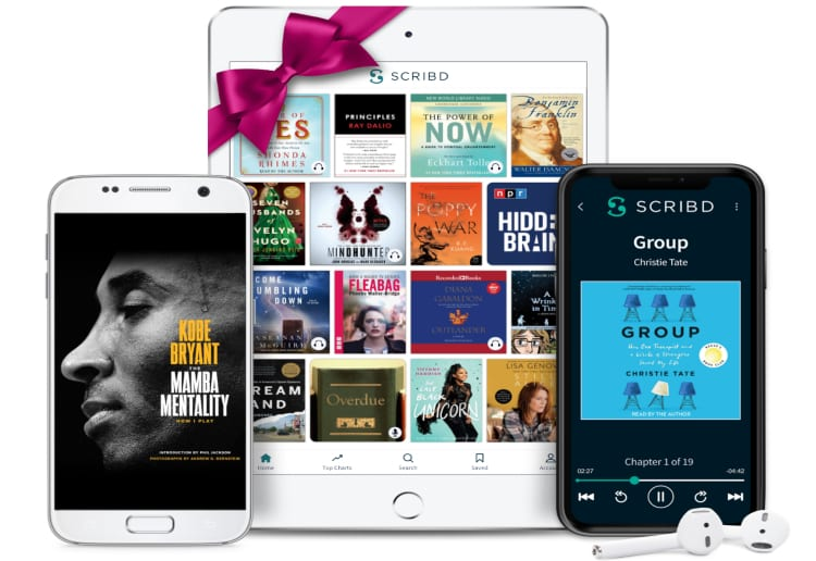 WIN 1 of 10 Six-Month Reading Subscriptions To Scribd