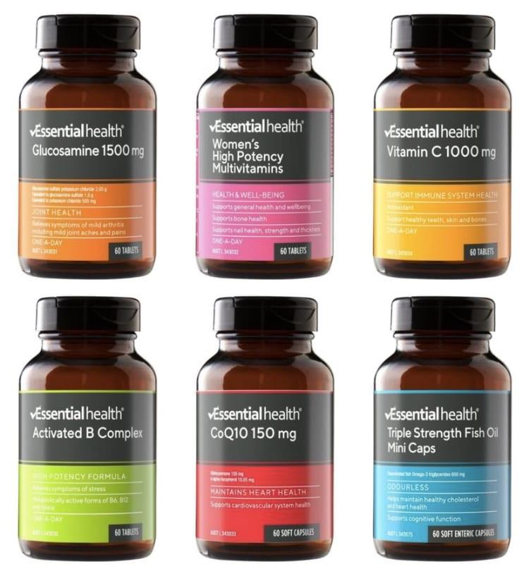aldi vitamin range