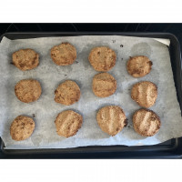 Peanut Butter Oat Baby Cookies Recipe