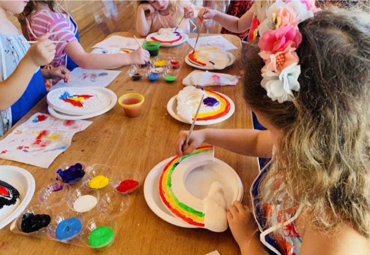 The BEST Plaster Painting Party With Bop Till You Drop