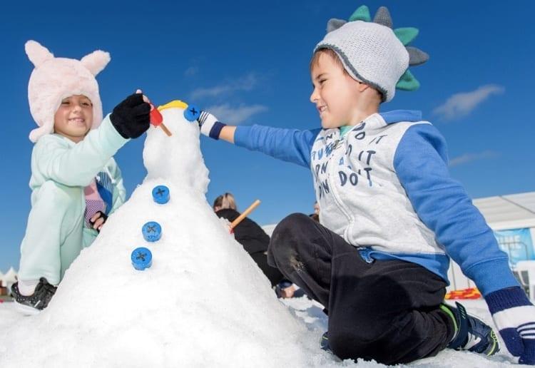 The Best Winter Fun At Snow Time in The Garden Winter Wonderland