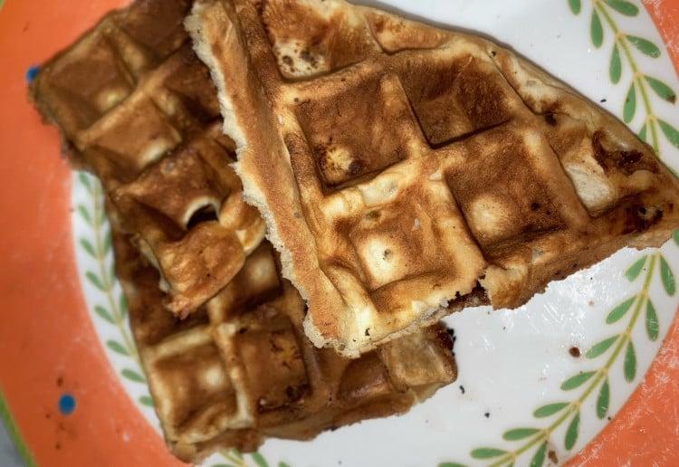 Banana Chocolate Waffles Recipe